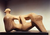 Henry Moore Reclining Figure, 1976–8