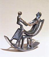 Henry Moore Rocking Chair No.2, 1950