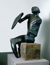Henry Moore Warrior with Shield 1953–4