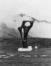 Barbara Hepworth's Figure (Archaean) 1959 at Hakone Open-Air Museum, 1970