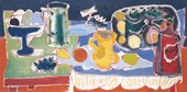 Patrick Heron Long Table with Fruit 1949