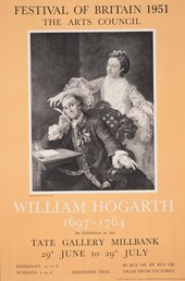 Exhibition poster: William Hogarth