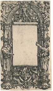 Hans Holbein the Younger Title-page Design for a New Testament