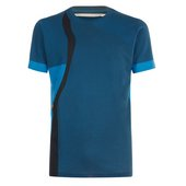 A blue men's t-shirt