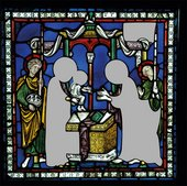 The Presentation in the Temple c1180 Cantebury Cathedral