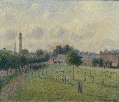 Camille Pissarro, Kew Green 1892