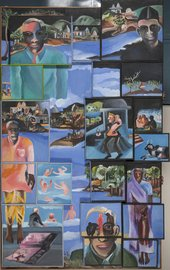 Image of  Bhupen Khakhar' s Night 1996