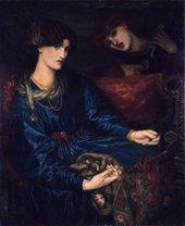 Dante Gabriel Rossetti Mariana 1870 Oil on canvas Aberdeen Art Gallery & Museum Collection