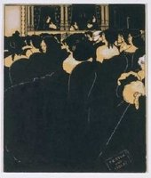 Aubrey Beardsley Wagnerites 1894