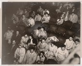 Weegee (Arthur Fellig) Audience in the Palace Theater c1943
