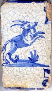 Ceramic cobalt glaze