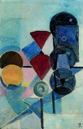 Theo van Doesburg Composition II (Still life)