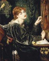 Dante Gabriel Rossetti Veronica Veronese 1872