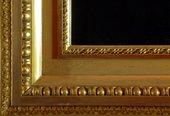 Corner detail of finished frame Fuseli