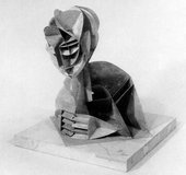 Naum Gabo Constructed Head No.2 conceived c.1916