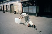 Francis Alÿs Paradox of Praxis I (Sometimes Doing Something Leads to Nothing) Mexico City 1997