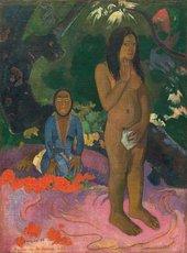 Paul Gauguin Parau na te Varua Ino / Words of the Devil 1892