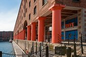 Tate Liverpool seen from the Albert Dock