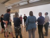 Gallery workshop with participants