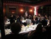 BMW Thought Workshop, 26 October 2013; evening meal