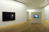 Installation shot of Motion Capture: Drawing and the Moving Image