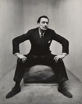 Irving Penn, Salvador Dali, New York 1947 The Sir Elton John Photographic Collection © The Irving Penn Foundation