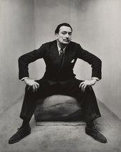 Irving Penn, Salvador Dali, New York 1947 The Sir Elton John Photographic Collection © The Irving Penn Foundation