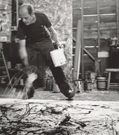 Jackson Pollock 1950 Action Painting