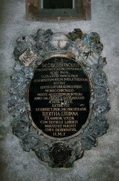 Jakob Bernoulli Funerary Inscription, Münster, Basel 1705