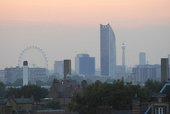 A photograph of London's skyline