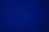 Derek Jarman still from Blue on display at Tate Modern
