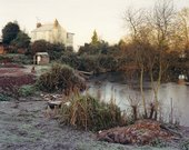 Jem Southam The Pond at Upton Pyne January 1997 diptych 1997