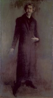 James McNeill Whistler Brown and Gold: Self-portrait about 1895-1900 Oil on canvas