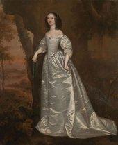 Joan Carlile - Portrait of an Unknown Lady, 1650-5