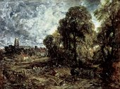 John Constable Stoke-by-Nayland (full-size sketch) about 1835-7