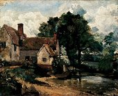 John Constable Willy Lott's House 1816