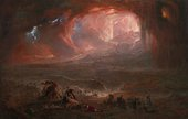 John Martin The Destruction of Pompeii and Herculaneum