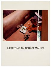 John Baldessari Commissioned Painting A Painting by George Walker 1969