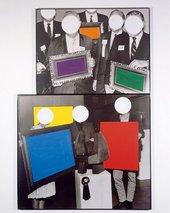 John Baldessari Frames and Ribbon 1988
