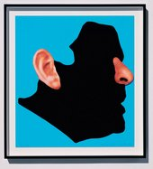 John Baldessari Noses and Ears Etc The Gemini Series Profile with Ear and Nose Colour 2006