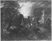 John Constable The Vicarage