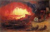John Martin The Destruction of Sodom and Gomorrah 1852