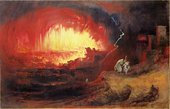 John Martin The Destruction of Sodom and Gomorrah 1852