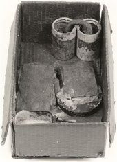 Joseph Beuys Fat Battery 1963 (photographed in 1968 prior to acquisition by Tate)