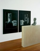 Juan Muñoz Ventriloquist Looking at a Double Interior 1988–2001