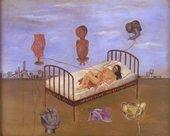 Frida Kahlo Henry Ford Hospital 1932 Oil on metal panel 305 x 350mm