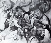 Lost Art: Wassily  Kandinsky - Composition I, 1910