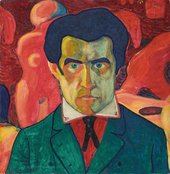 Kazimir Malevich Self Portrait 1908-1910