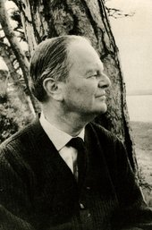 Kenneth Clark black and white photograph portrait