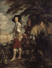 Anthony Van Dyck Charles I in the Hunting Field c.1635